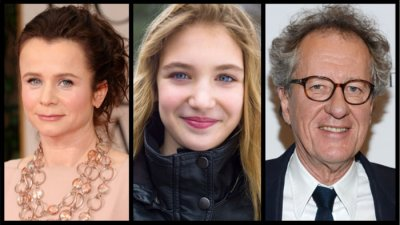 'The Book Thief' reunites Geoffrey Rush and Emily Watson