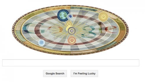 Google doodle celebrates Copernicus