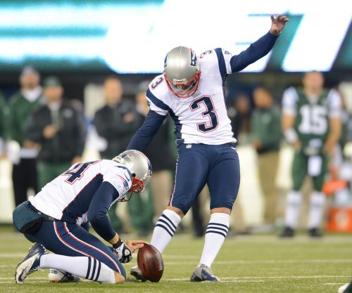 Gostkowski gets $17.2 million from New England Patriots