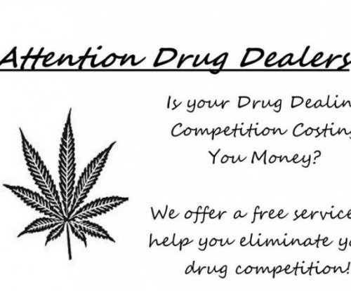 Sheriff offers drug dealers help with 'competition'