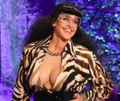 Ellen DeGeneres debuts halloween costume as Kardashian sister