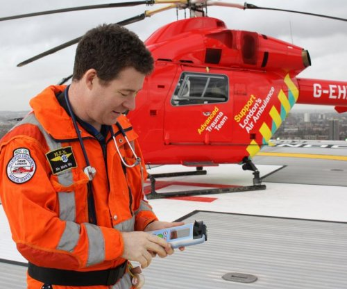 London paramedics test hand-held brain scanner