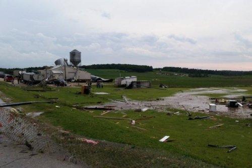 Rural Iowa hit with two dozen tornadoes