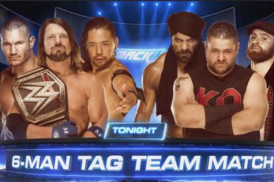 WWE Smackdown: Styles, Orton and Nakamura win epic Tag Team Match