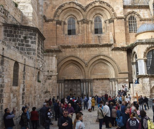 Israel's Church of the Holy Sepulchre reopens after protest