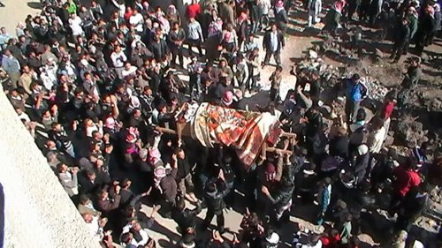 Syrian opposition puts death toll at 6,275