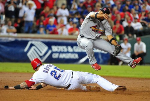MLB: Texas 4, St. Louis 0