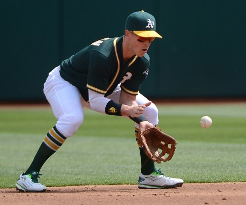 Rich Hill pitches Oakland Athletics past New York Yankees