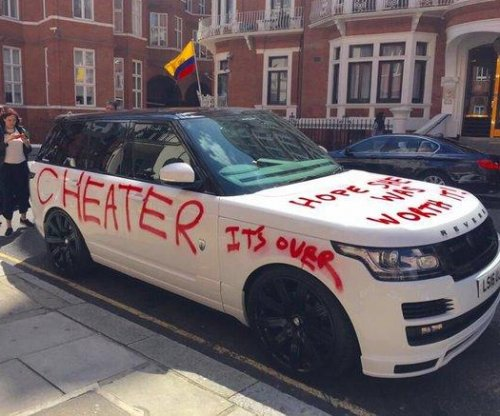 Range Rover worth $100k vandalized by apparent scorned lover