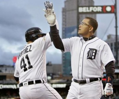 Miguel Cabrera returns with a bang as Detroit Tigers defeat Cleveland Indians