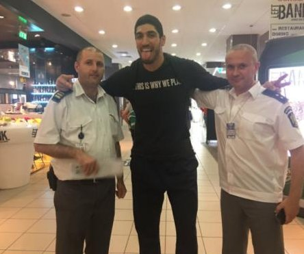 Oklahoma City Thunder's Enes Kanter released after being detained in Romania airport