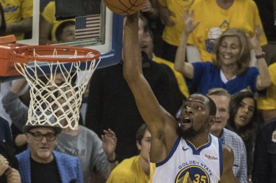 Golden State Warriors' Kevin Durant ruled out for remainder of Houston Rockets series
