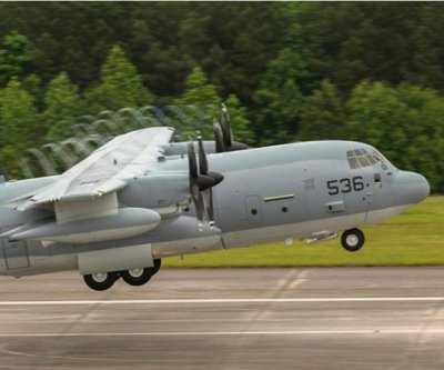 N.Y. Marine Reserve squadron gets its first KC-130J tanker plane