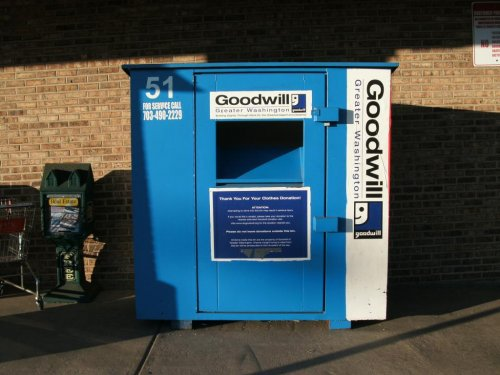 Companies using illegal clothing donation bins to make profit