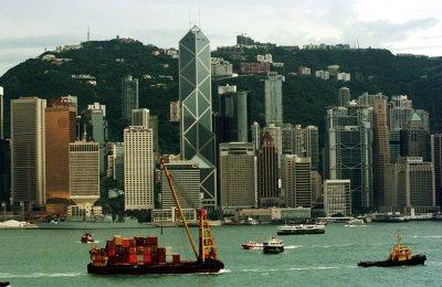 Democracy protestors standoff against police in Hong Kong