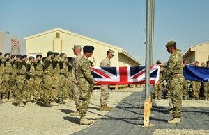 Britain ends combat mission in Afghanistan