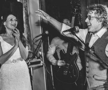 Roger Daltrey makes surprise appearance at wedding, serenades newlyweds