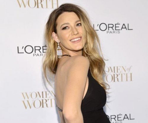 Pregnant Blake Lively stuns in backless dress