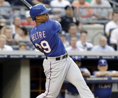 Texas Rangers 3B Adrian Beltre has strained back