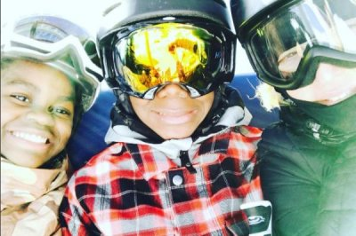 Madonna shares photos from family ski vacation