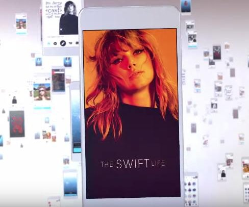 Taylor Swift announces The Swift Life app to connect with fans