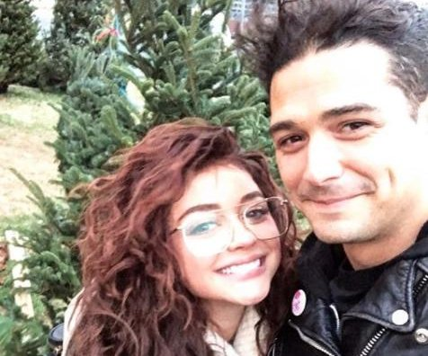 Sarah Hyland, Wells Adams buy first Christmas tree as couple