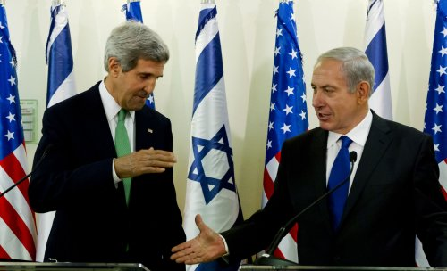 Kerry, Netanyahu discuss Iran, peace in Middle East