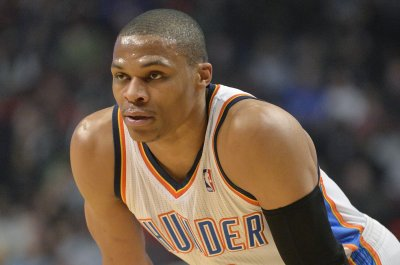 Oklahoma City Thunder drop Atlanta Hawks behind Westbrook's triple-double