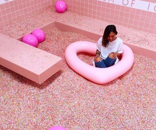 Museum of Ice Cream features pool filled with sprinkles