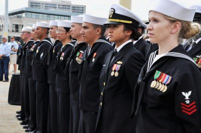 'Task Force One Navy' report cites ways to improve diversity, inclusion