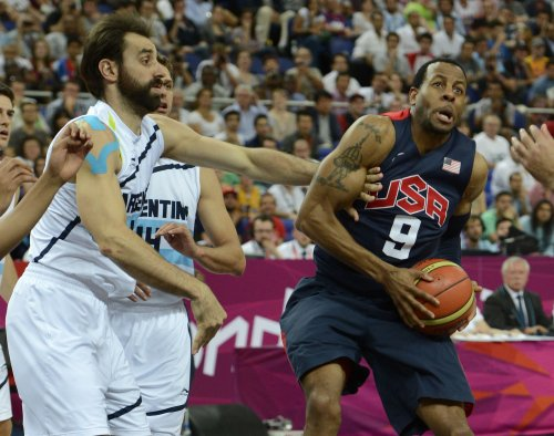 Spain vs. USA in basketball final