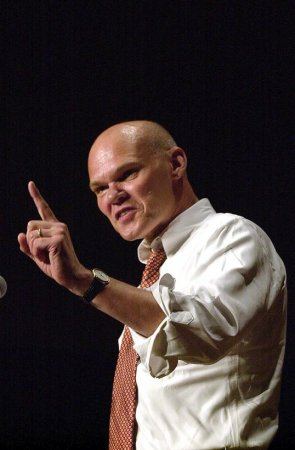 Carville slams White House over spill