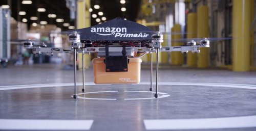 Amazon drone delivery plan announced