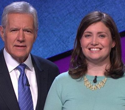 Julia Collins, 'Jeopardy's winningest woman, wins 19th straight game