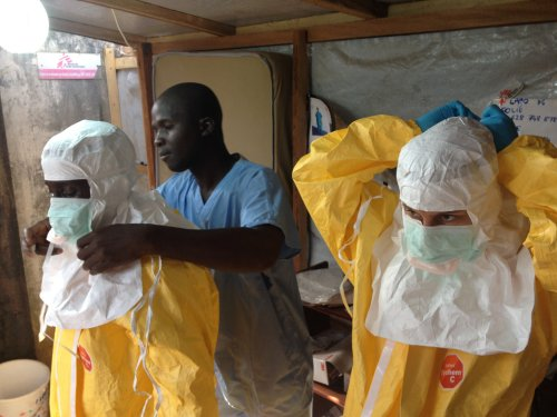 17 Ebola patients may be missing after clinic attack