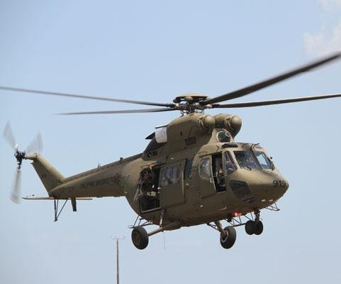PLZ-Swidnik supplies helos to Uganda