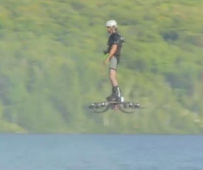 Canadian hoverboard flies 904 feet for Guinness World Record