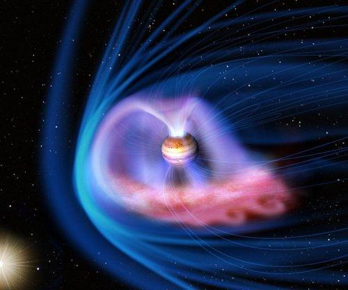 Solar storms trigger light show on Jupiter