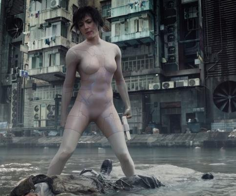 'Ghost in the Shell' first trailer explores the Major's origin