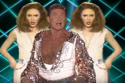'Guardians of the Galaxy' 'Inferno' music video features cast, David Hasselhoff