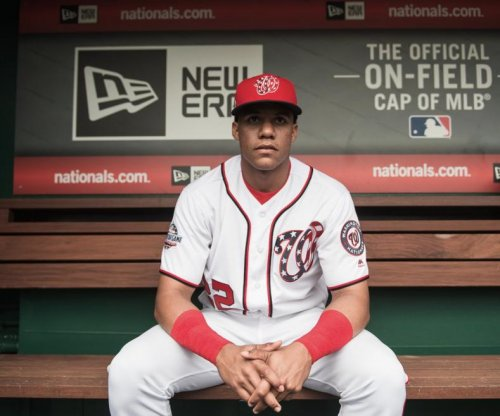 Nationals' Juan Soto homers on first pitch of first career at-bat as starter