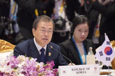 South Korea president seeks end to corruption
