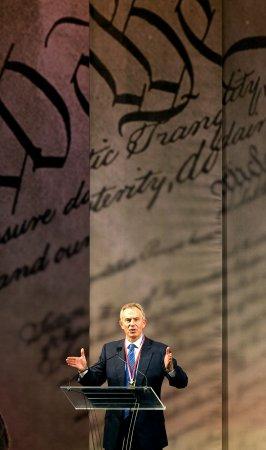 Blair urges grads to pursue 'noble causes'