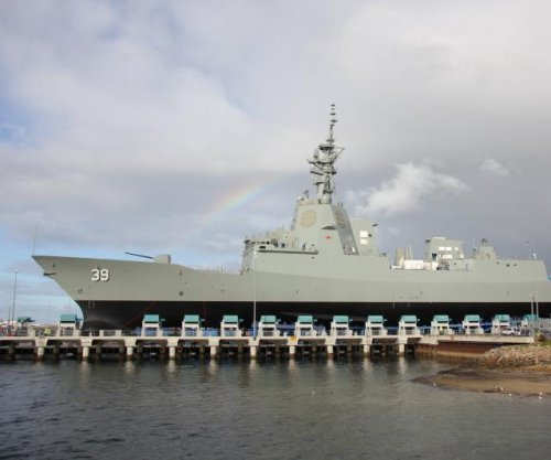 Australia launches first AWD destroyer