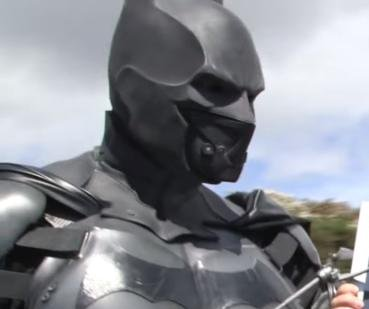 Batman costume earns Guinness record for functioning gadgets on a cosplay suit