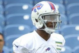 Buffalo Bills rookie WR Zay Jones idle after suffering knee injury