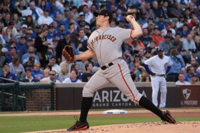 Ty Blach battles, leads San Francisco Giants past Chicago Cubs