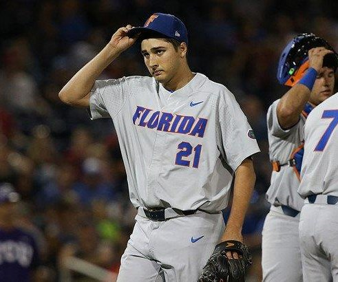 2017 College World Series: Alex Faedo pitches Florida Gators into CWS Finals