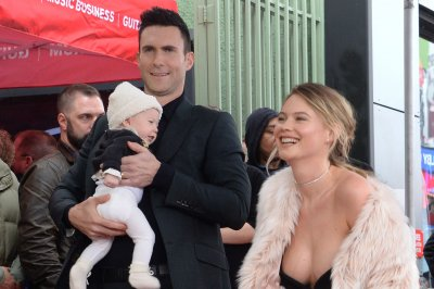 Behati Prinsloo tells 'Ellen' she wants more kids with Adam Levine