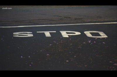 California city corrects misspelled 'STPO' sign